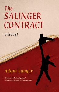 "05book ""The Salenger Contract"" by Adam Langer."
