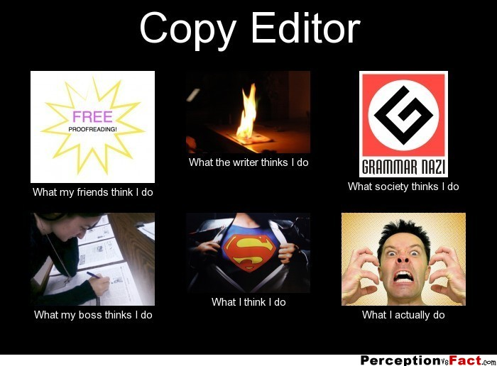 blog on being an editor the book of writing