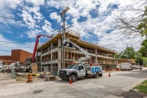 Walton Art Center Construction